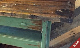 Vintage Carpenters Bench